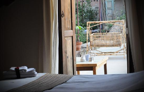 Traditional Homes - SWOTHA: One of our room with attached terrace