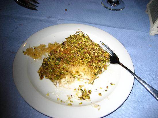 Kyprida Restaurant: awesome dessert at kyprida