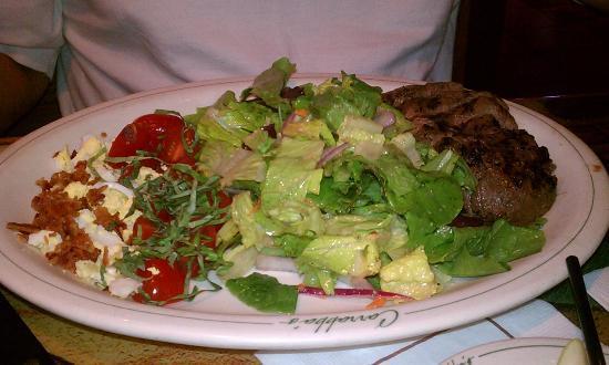 Carrabba's Italian Grill: Insalata Italian Cobb With Sirloin Steak