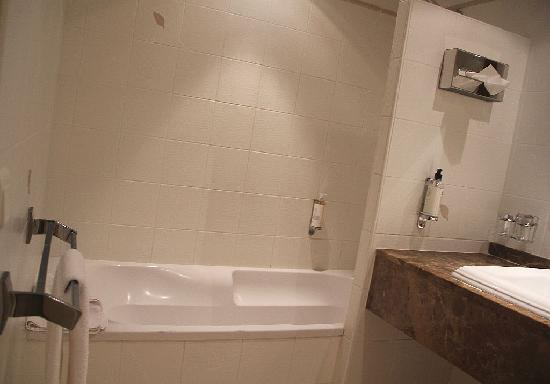 Huge bath shower and bathroom - Picture of Best Western Beau Site ...