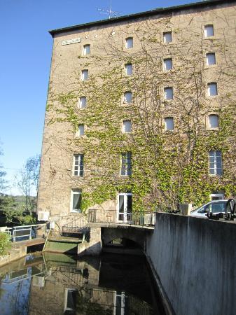Auberge Du Moulin Marin: vue de l'ancien moulin
