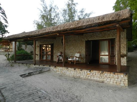 Les Dunes d'Ifaty: The verandah of the bungalow