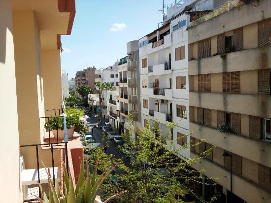 Hostal Europa Punico: Vista dal balcone