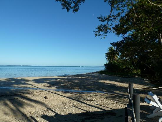 Wellesley Resort Fiji: Secluded beach