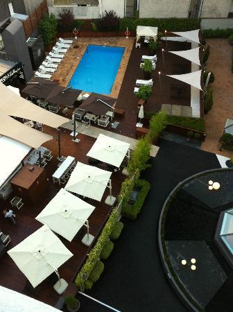 Wellington Hotel: Vue de la chambre