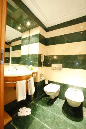 Crowne Plaza Hotel Beirut: toilet