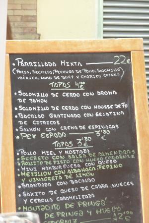 Alcaiza: Blackboard menu
