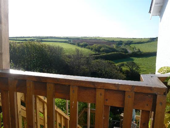 Westward Bed & Breakfast: View from the terrace