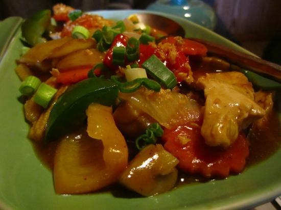 Jintana Thai Restaurant: stir fried Chicken w Cashew Nuts and Capsicum