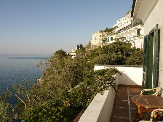 Santa Caterina Hotel: View from terrace (room 45)