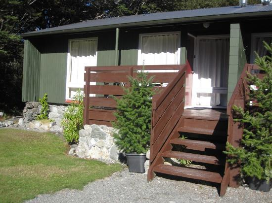 Arthur's Pass Alpine Motel : Exterior of Cabin #5