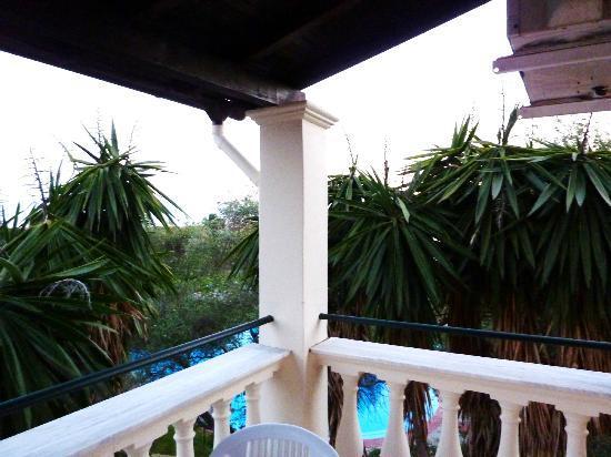 Sun Village: The apartment balcony