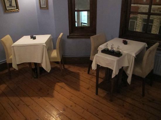 Mosaic Restaurant: el salón del 3º piso