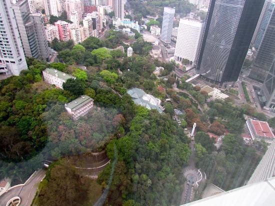 Island Shangri-La Hong Kong: Vistas desde el piso 47 del Island Shangri La Hotel