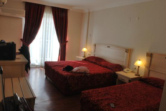 Dabaklar Hotel: good sized room