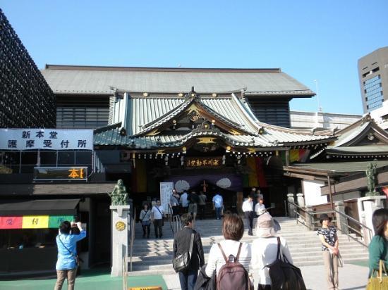 Fukagawa Fudodo : 社殿