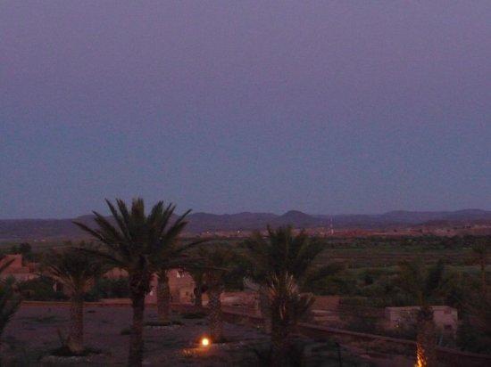 Ibis Moussafir Ouarzazate: Vue de la terasse du restaurant