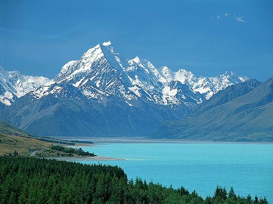 Canterbury Region, New Zealand: Lake Pukaki 1