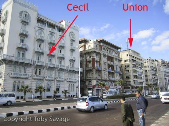 Union Hotel: Close to The Cecil