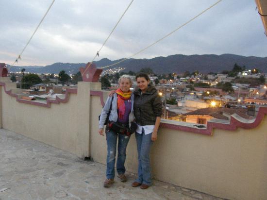 Hotel Casa de Guadalupe: terrazza panoramica