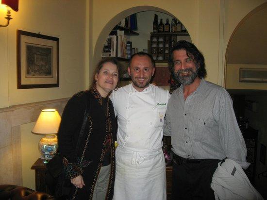 Antica Trattoria San Lorenzo: Love Simone's creative cuisine