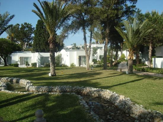 Hotel Palace Hammamet Marhaba : Well maintained gardens