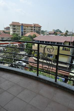 Hotel Cara: View from balcony