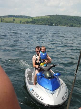 The Lake House: we can jet ski