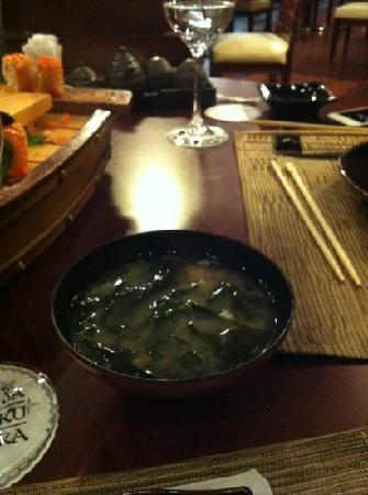 Sakura Japanese Restaurant: soup