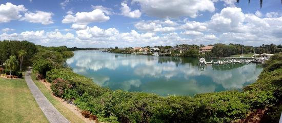 Resort at Longboat Key Club: View of the lagoon from Building 6