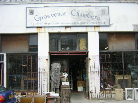 พลีมัท, UK: Plymouth UK Reclamation and Antique Fireplaces -Grosvenor Chambers