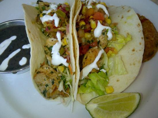 Blue Ridge Grill : Mahi Mahi Fish Tacos