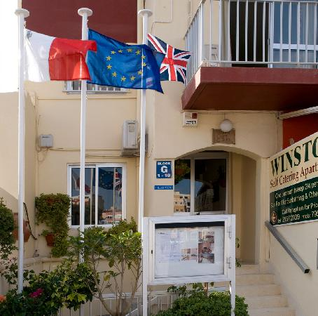 Winston Self-Catering Apartments: on site office