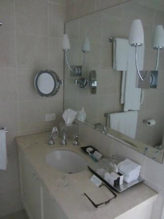 Lyall Hotel and Spa: Common bathroom
