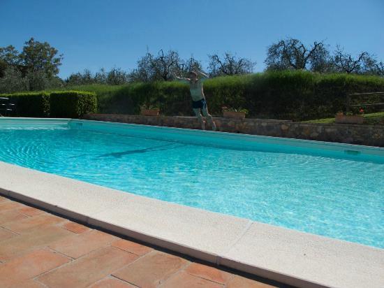 Agriturismo Il Casolare di Bucciano: Swimming pool
