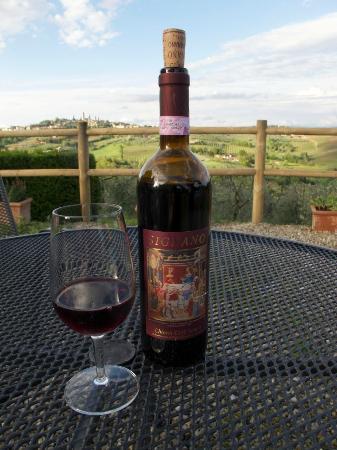 Agriturismo Il Casolare di Bucciano: Wine