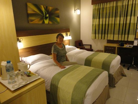 Citymax Hotels Bur Dubai: comfy bed