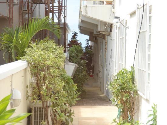 Ocean's Edge Condos: Entrance to