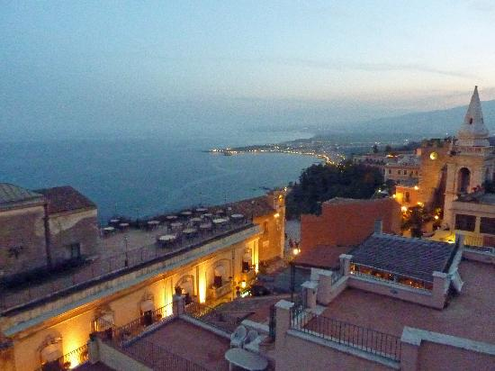 Casa Turchetti: Panorama all'imbrunire