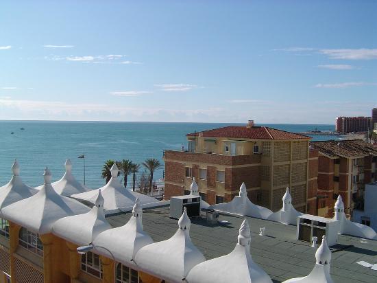 Las Arenas Hotel: Sea view