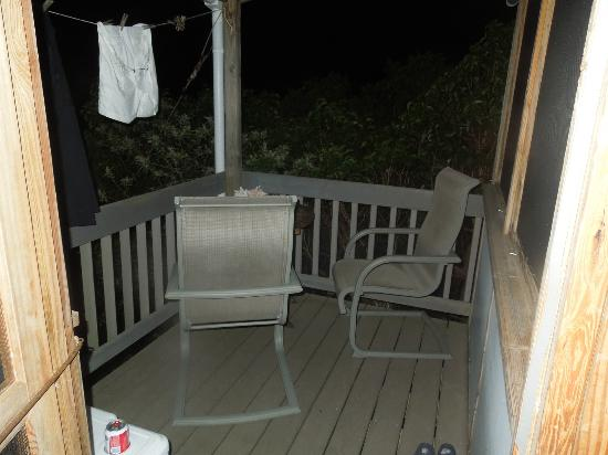 Virgin Islands Campground: Private Deck