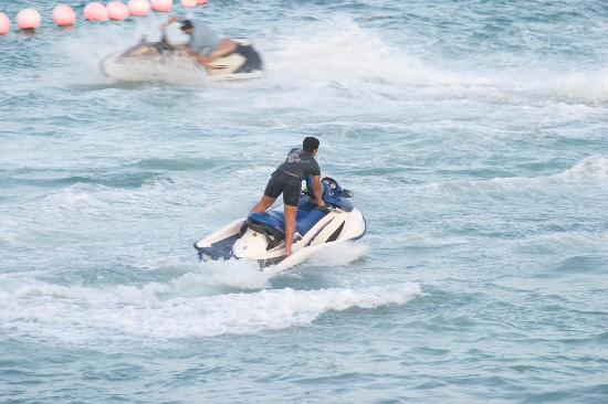 Corniche: Jetsky at sunset beach resort ksa