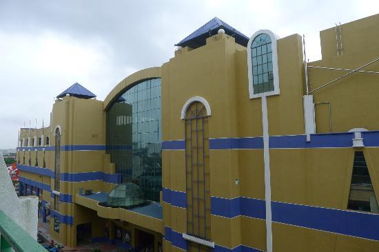 M.S. Garden Hotel Kuantan: View towards rear of Berjaya Megamall