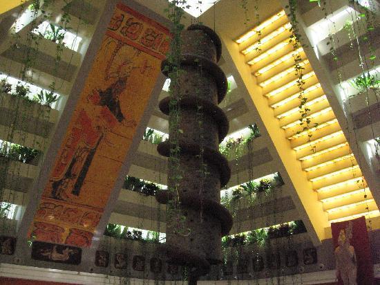 Inside The Pyramid Bar Picture Of Iberostar Paraiso Maya