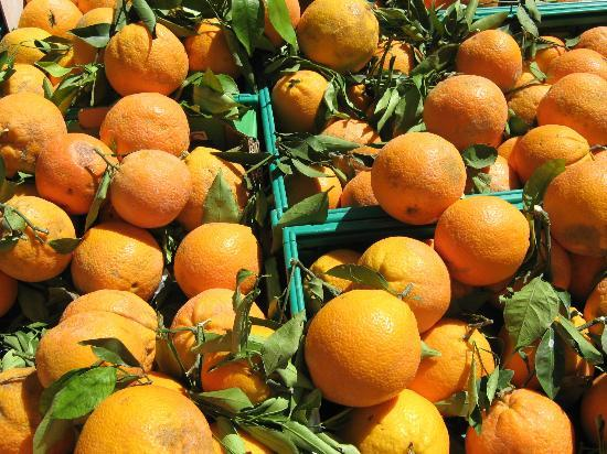 Marché du mercredi matin : these they call oranges