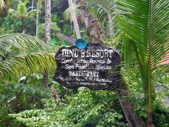 Dinu's Resort: Sign