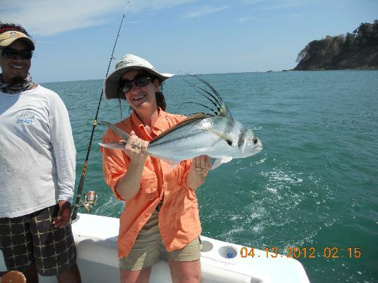 Quepos, Costa Rica: FIRST ROOSTER FISH