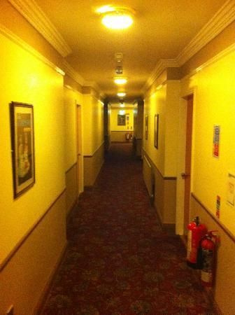 Brog Maker Hotel: Miserable looking hallway