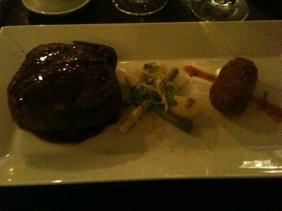 Yorebridge House: Steak - excellent