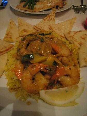 Dan's Bistro : Moroccan Shrimp